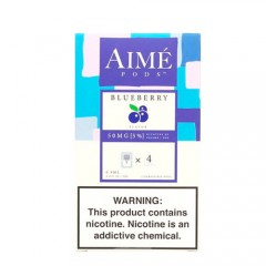 Картриджи Aime Pods Compatible with JUUL Blueberry 4 шт