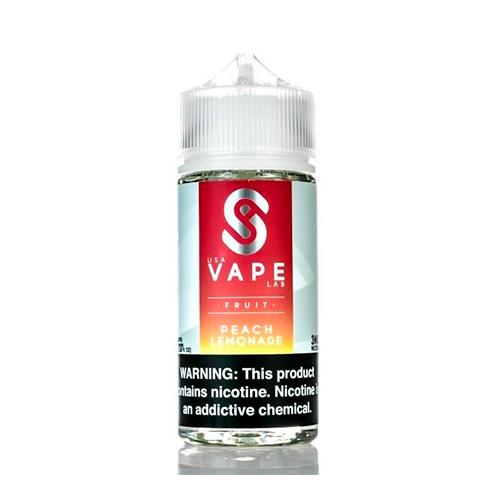 Жидкость USA Vape Lab - Peach Lemonade Оригинал