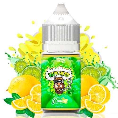 Солевая жидкость Vape Head - Limon SALT Оригинал