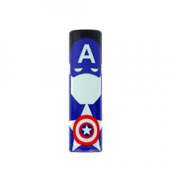 Термоусадка 18650 Super Heroes Captain America