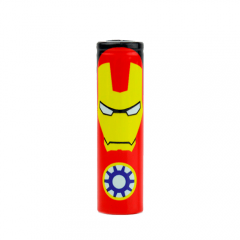 Термоусадка 18650 Super Heroes Iron Man