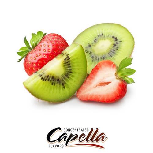 Ароматизатор Kiwi Strawberry with Stevia (Клубника киви) Capella
