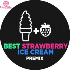Концентрат EasyMix Best Strawberry Ice Cream