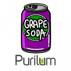 Ароматизатор Purilum Grape Soda (Виноградная содовая)