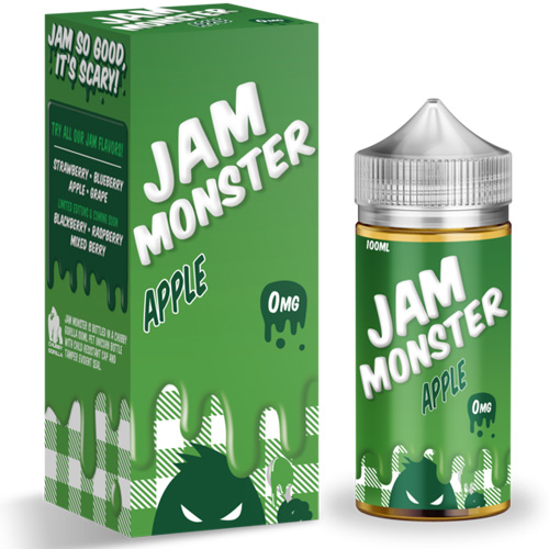 Жидкость Jam Monster - Apple Оригинал