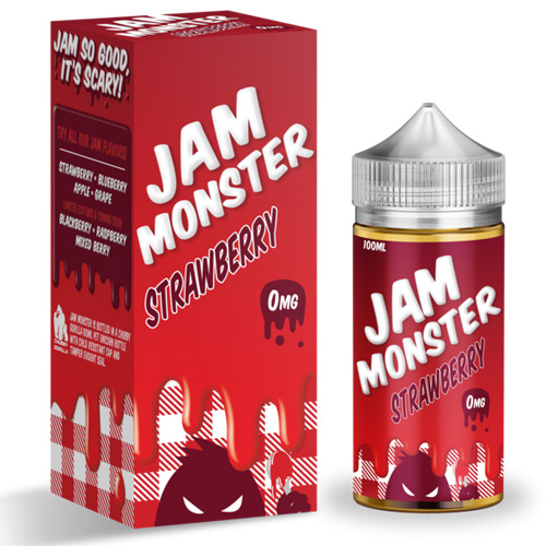 Жидкость Jam Monster - Strawberry Оригинал