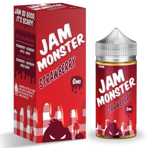 Рідина Jam Monster - Strawberry Оригінал
