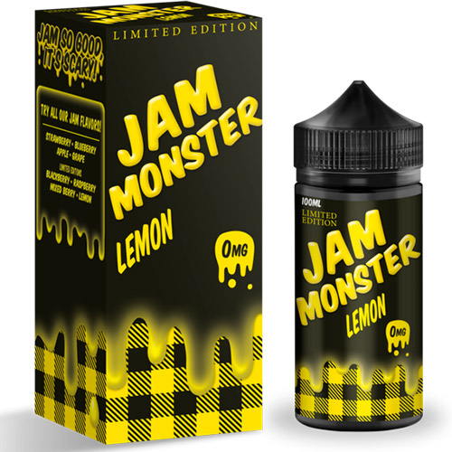 Жидкость Jam Monster - Lemon Оригинал