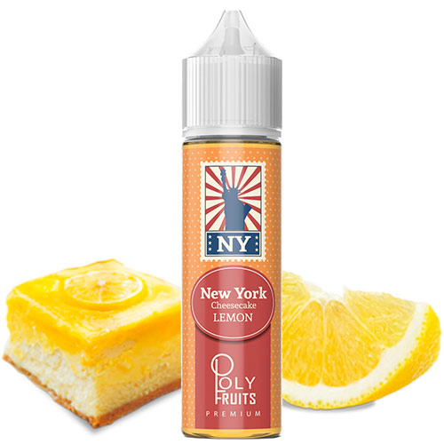 Премиум жидкость Poly Fruits - New York Cheesecake Lemon