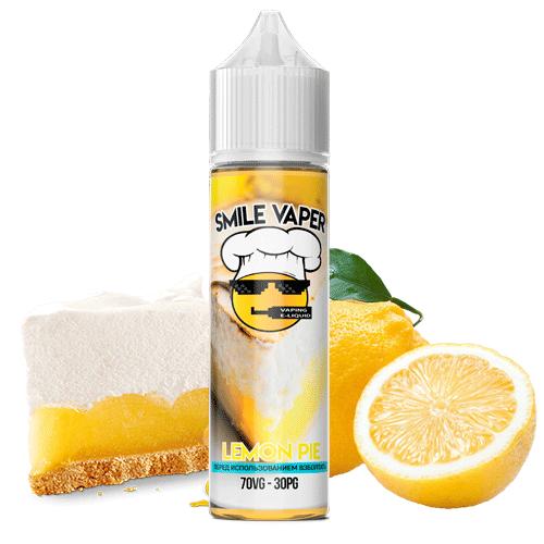 Жидкость для электронных сигарет Smile Vaper - Lemon Pie